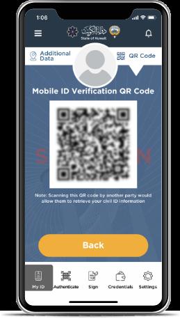 Kuwait Mobile ID PACI, Hawyti PACI, Digital Civil ID, iiQ8, Mobile Based Civil ID 4