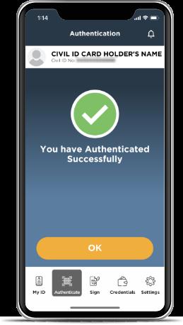 Kuwait Mobile ID PACI, Hawyti PACI, Digital Civil ID, iiQ8, Mobile Based Civil ID 6