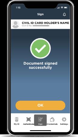 Kuwait Mobile ID PACI, Hawyti PACI, Digital Civil ID, iiQ8, Mobile Based Civil ID 8